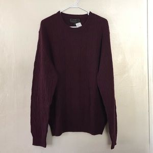 Jos A Bank Reserve Collection Wool Sweater XL NWT